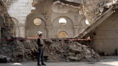 Mosul ruins