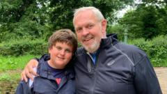 Henry Collett and his dad Jules