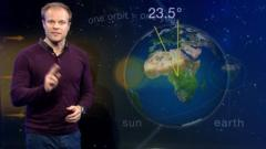 Spring is officially here, with the March equinox! But why does it happen? Weather presenter Simon King is on the case...