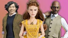 Harry Styles, Emma Watson and Idris Elba in doll form