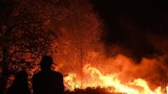 Moor fire.