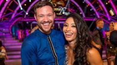 Will Young and dance partner Karen Clifton