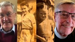 Jim Johnston from Belfast tracked down his American pen pal after seven decades of being out of touch