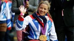 Hannah Cockcroft at the Olympics