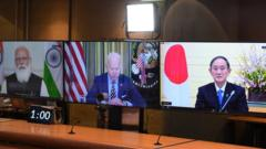 Image shows the virtual summit on Friday