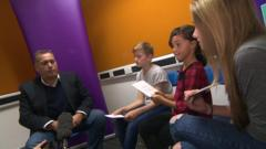 Children interview Politician David Warburton MP about Bullying
