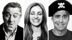 Robert DeNiro, Julia Roberts and George Clooney