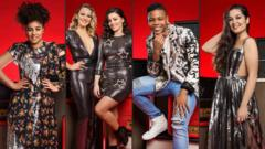 The Voice UK finalists