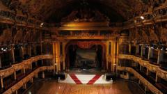 Blackpool tower ballroom.