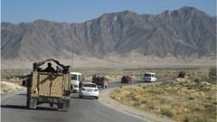 Afghan forces take Taliban prisoners