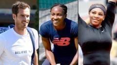 Andy-Murray-Cori-Gauff-and-Serena Williams.