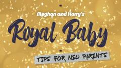 Royal baby graphic