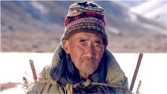 Yak shepherd Phuntsog Tsering