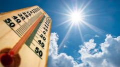 Thermometer-and-sun