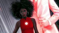 RiRI replaces Tony stark as Iron Man