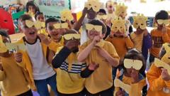 class wearing yellow