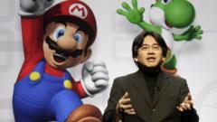 Nintendo's chief executive Satoru Iwata
