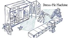 Designs for a machine which dresses you