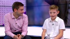 Riley joined BBC Sport's Tim Crossman in the Newsround studio
