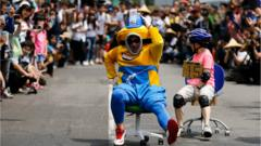 Chair racing