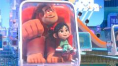 Wreck-it Ralph and Vanellope riding around the internet in new film 'Ralph Breaks the Internet'