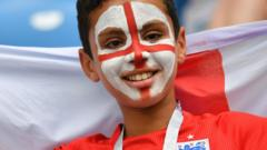 Young England fan
