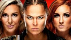 Charlotte Flair, Ronda Rousey and Becky Lynch