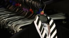 School uniform on hanger