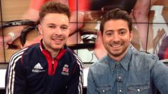 Owain Doull and Ricky