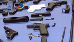 Guns found at illegal workshop in Tenerife