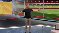 Football Focus' Dan Walker shows us round the brand new VR studio that's used for Match of The Day.
