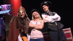 Hayley and the Horrible Histories team