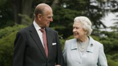 Prince Philip with Queen