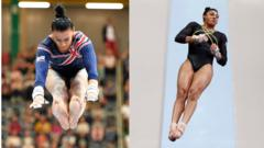 Becky Downie (left) and Ellie Downie (right)