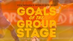 Goals of the Women's World Cup group stage