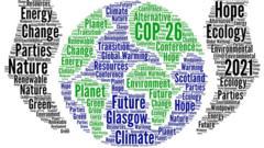 COP 26 words