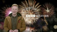 Owain Wyn Evans, Weather Presenter