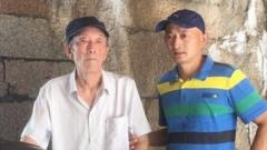 Zhang Hai and his father