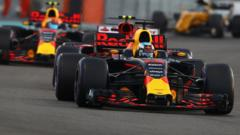 Red Bull F1 cars
