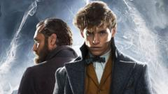 Newt Scamander and Albus Dumbledore