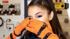 Ariana at Nasa's Johnson Space Center Houston, US.