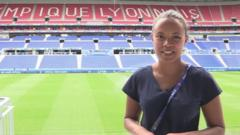 Leah at Stade de Lyon