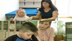 Schoolchildren in croatia