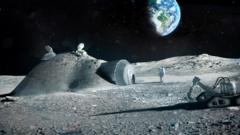 How settlements on the moon could look