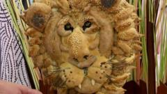 Bread lion