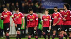 Man Utd knocked out of Champions League