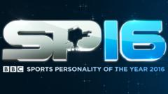 Sports Personality of the Year 2016 logo