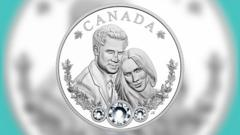 Canada's $20 coin for the Royal wedding