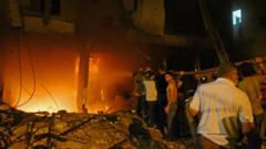 A fuel tank exploded in the city of Beirut causing residents to panic