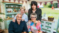 Great British Bake off team